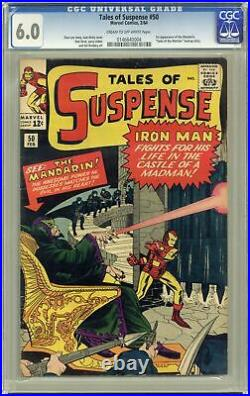Tales of Suspense #50 CGC 6.0 1964 0146640004 1st app. Mandarin