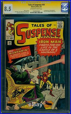 Tales of Suspense 50 CGC 8.5 Signature Series Silver Age key Comic Movie! L@@K