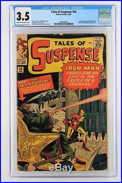 Tales of Suspense #50 Marvel 1964 CGC 3.5 1st Appearance of the Mandarin. Tale