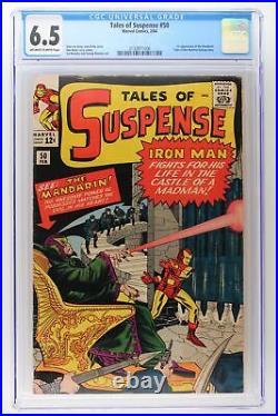 Tales of Suspense #50 Marvel 1964 CGC 6.5 1st App of the Mandarin
