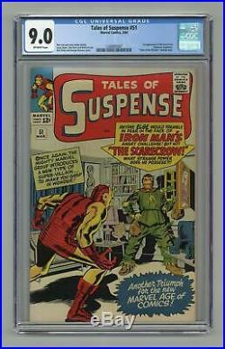 Tales of Suspense #51 1964 CGC 9.0 1288805007