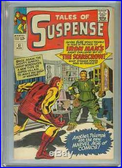 Tales of Suspense #51 (1st Scarecrow) CGC 5.5 OWP