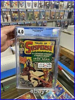 Tales of Suspense #52 1st Appearance BLACK WIDOW CGC 4.0 Marvel 1964 Movie Soon