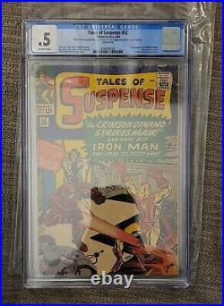 Tales of Suspense #52 CGC 0.5 (Marvel) 1964