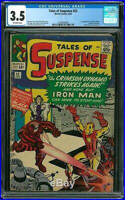 Tales of Suspense 52 CGC 3.5 (First Appearance of Black Widow)