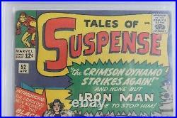 Tales of Suspense #52 CGC 3.5 (Marvel) 1964