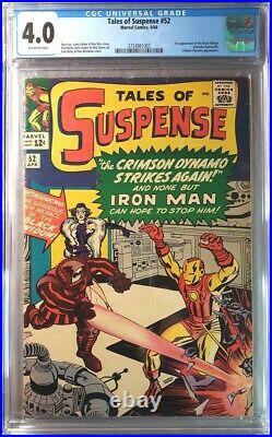 Tales of Suspense #52 CGC 4.0 (1964) 1st Appearance Black Widow MOVIE SOON