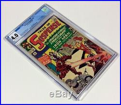 Tales of Suspense #52 CGC 4.0 KEY OWithW pages (1st Black Widow) Apr. 1964 Marvel