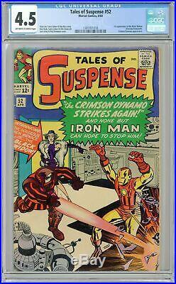 Tales of Suspense #52 CGC 4.5 1964 1397051018 1st app. Black Widow