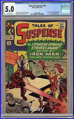 Tales of Suspense #52 CGC 5.0 1964 3714722005 1st app. Black Widow