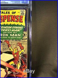 Tales of Suspense 52 CGC 5.0, 1st Black Widow (Marvel 1964)
