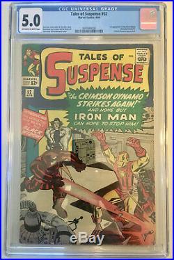 Tales of Suspense #52 CGC 5.0 1st appearance of Black Widow MARVEL MOVIE