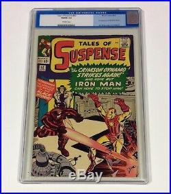 Tales of Suspense #52 CGC 5.0 KEY! (1st Black Widow, Iron Man) Apr. 1964 Marvel