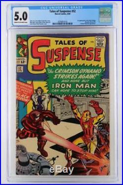 Tales of Suspense #52 CGC 5.0 VG/FN Marvel 1964 1st App Black Widow
