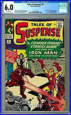 Tales of Suspense #52 CGC 6.0 (OW) 1st Appearance of Black Widow