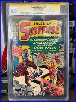 Tales of Suspense #52 CGC 6.0 SS (C-OW) Stan Lee First Black Widow