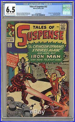 Tales of Suspense #52 CGC 6.5 1964 2053649001 1st app. Black Widow
