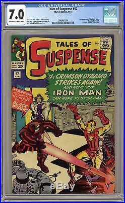 Tales of Suspense #52 CGC 7.0 1964 1396961004 1st app. Black Widow