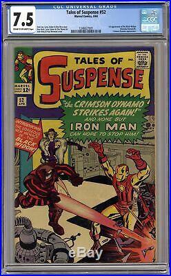 Tales of Suspense #52 CGC 7.5 1964 1246627001 1st app. Black Widow