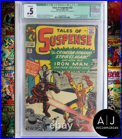 Tales of Suspense #52 CGC Qualified 0.5 (Marvel) 1964