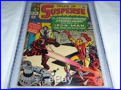 Tales of Suspense #52 CGC Universal Grade Comic 5.5 1st Appearance Black Widow