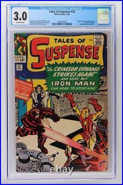 Tales of Suspense #52 Marvel 1964 CGC 3.0 1st App of The Black Widow