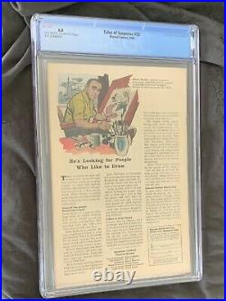 Tales of Suspense #53 CGC 6.0 Marvel Comics 1964 2nd Black Widow Watcher Nice