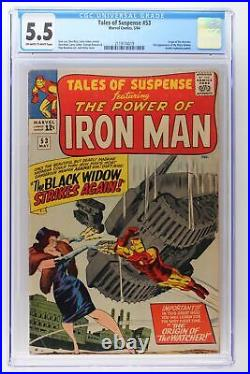 Tales of Suspense #53 Marvel 1964 CGC 5.5 Origin of the Watcher. 2nd Appearanc