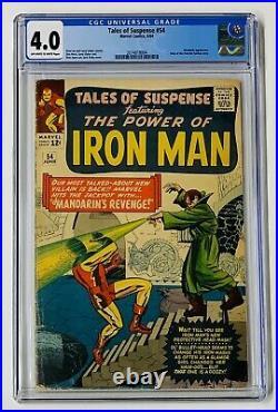 Tales of Suspense #54 CGC 4.0 Marvel Comics 1964