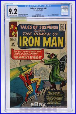 Tales of Suspense #54 CGC 9.2 Tales of the Watcher Backup Story