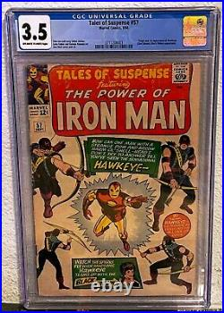 Tales of Suspense #57 (1964) CGC 3.5 1st Appearance Hawkeye Marvel Comics