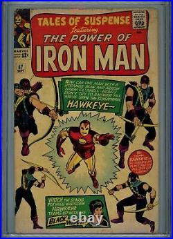 Tales of Suspense #57 1964 CGC 3.5 First appearance of Hawkeye by Stan Lee Comic