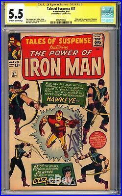Tales of Suspense #57 CGC 5.5 Origin & 1st app. Of Hawkeye (Clint Barton) L@@K