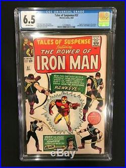 Tales of Suspense 57 CGC 6.5 (First Appearance of Hawkeye)