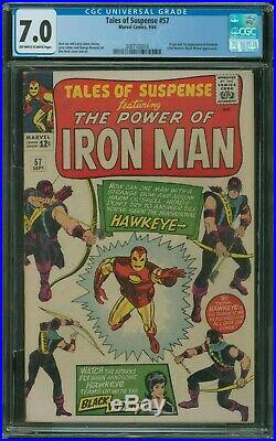 Tales of Suspense #57 CGC 7.0 origin and 1st appearance of Hawkeye