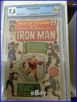 Tales of Suspense #57 CGC 7.5 Off-White pages 1st appearance of Hawkeye