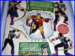 Tales of Suspense #57 CGC Signature Auto STAN LEE Origin 1st Appearance Hawkeye