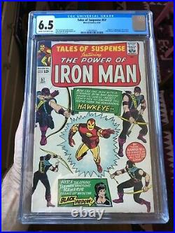 Tales of Suspense #57 First Appearance of Hawkeye CGC 6.5 1964 Disney + show