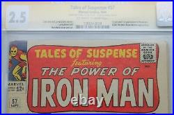 Tales of Suspense #57 GD+ 2.5 (Marvel) CGC Signature Series Signed Stan Lee