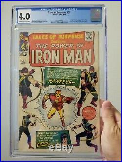 Tales of Suspense #57 (September 1964) in Very Good Condition cgc 4.0