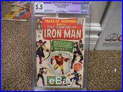 Tales of Suspense 57 cgc 5.5 apparent cover trimmed 1st appearance Hawkeye 1964