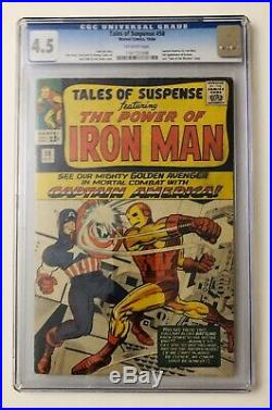 Tales of Suspense #58 CGC 4.5 1964 2nd Appearance Of Kraven The Hunter