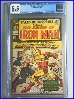 Tales of Suspense 58 CGC 5.5 Captain America vs Iron Man, 2nd Kraven