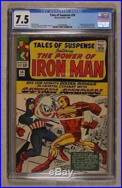Tales of Suspense #58 CGC 7.5 1964 0327006009