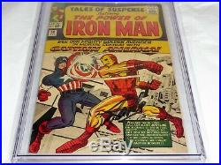 Tales of Suspense #58 CGC SS Signature Autograph STAN LEE 2nd Kraven Iron Man