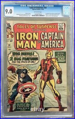 Tales of Suspense #59 (1964) CGC 9.0 - 1st solo Silver Age Captain America