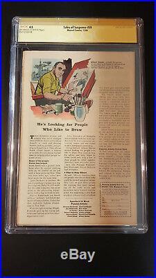 Tales of Suspense #59 CGC 4.5 SS Stan Lee Nov 1964 Iron Man Captain America