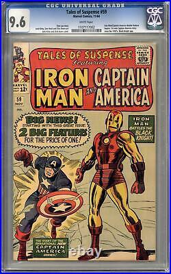 Tales of Suspense #59 CGC 9.6 (W) 1st Silver Age Captain America Solo Story