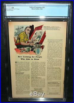 Tales of Suspense #59 Iron Man / Captain America Double Begin CGC 7.0 1964