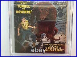 Tales of Suspense 5 CGC 4.5 Tan to OW Kirby Stan Lee Ditko 1959 Atlas Marvel